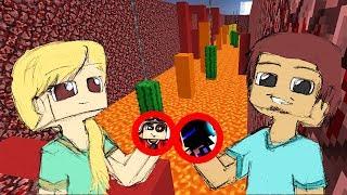 Я СТАЛ АЛЕКС А ТЕРОСЕР ПРЕВРАТИЛСЯ В СТИВА! Minecraft Parkour