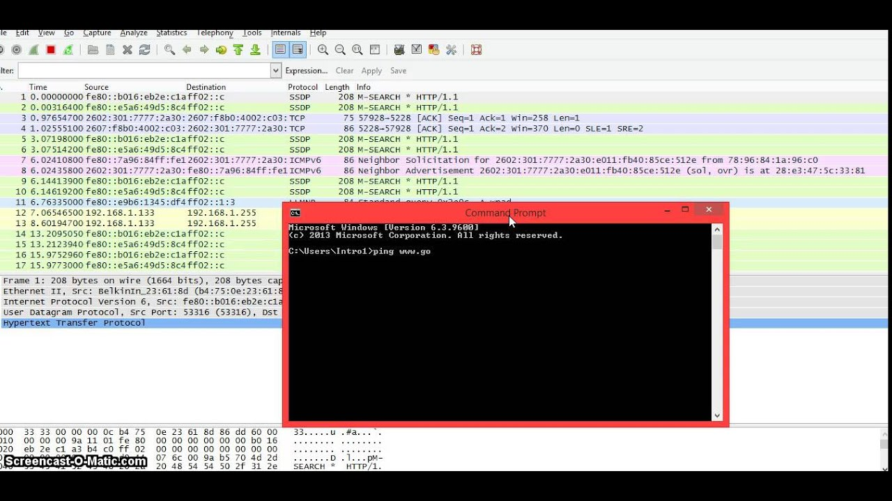 Wireshark Frequently Asked Questions