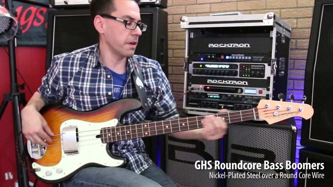 ghs strings roundcore bass boomers youtube. Black Bedroom Furniture Sets. Home Design Ideas