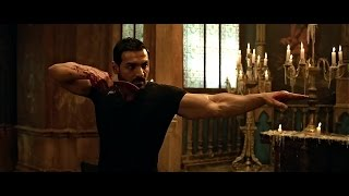 John Abraham Awesome knife skill Scene in rocky handsome