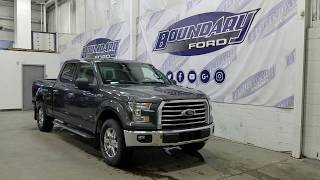 Pre-owned 2016 Ford F-150 SuperCrew XLT 301A W/ 3.5L EcoBoost, Cloth Overview | Boundary Ford