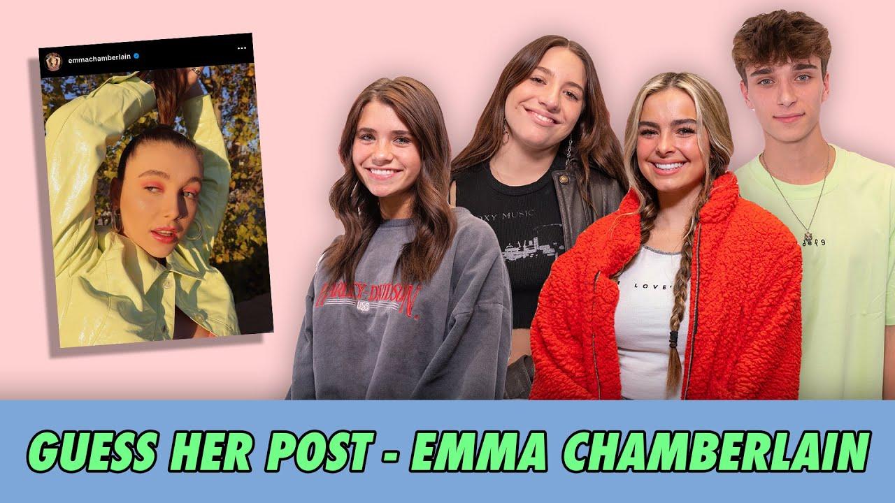 Guess Her Post - Emma Chamberlain