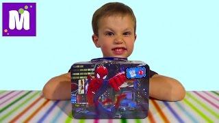 Человек-паук чемоданчик сюрприз распаковка Спайдермен