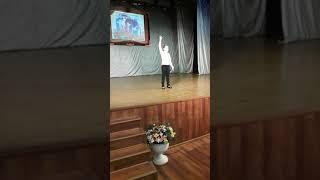 Габдулла  Тукай ' Театр ', конкурс  чтецов,  Насте 8 лет.  / 26 октября  2018 г. /