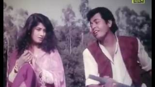 """Elo Boshonto Amr Gane...... Benglai Old Movies Song """"Harano Pream""""By_Omar_Sany_ft_Moushumi."""
