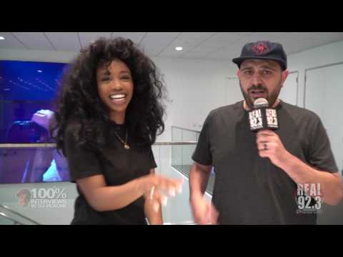 100% INTERVIEWS W/ DJ VICK ONE AND SZA!!!!!