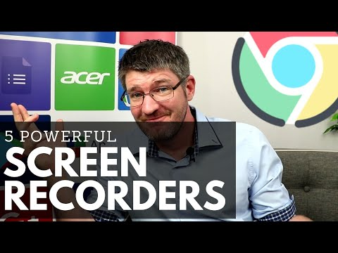 How To Screen Record On Chrome And Chromebooks - 5 Extensions To Create Great Video  | Episode 27