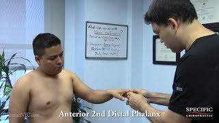 Car Washer finger numbness and wrist pain FIXED Dr Suh Gonstead Chiropractor