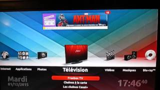 TEST AVEC ANCIENNE FREEBOX TV FREEPLUG = AUCUN PROBLEME !!!!