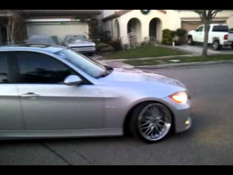 325i bmw e90 exhaust youtube. Black Bedroom Furniture Sets. Home Design Ideas