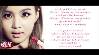 [ROM/ENG/MP3] Lee Hi - It's Over
