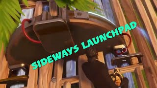 Fortnite| Sideways Launchpad Glitch
