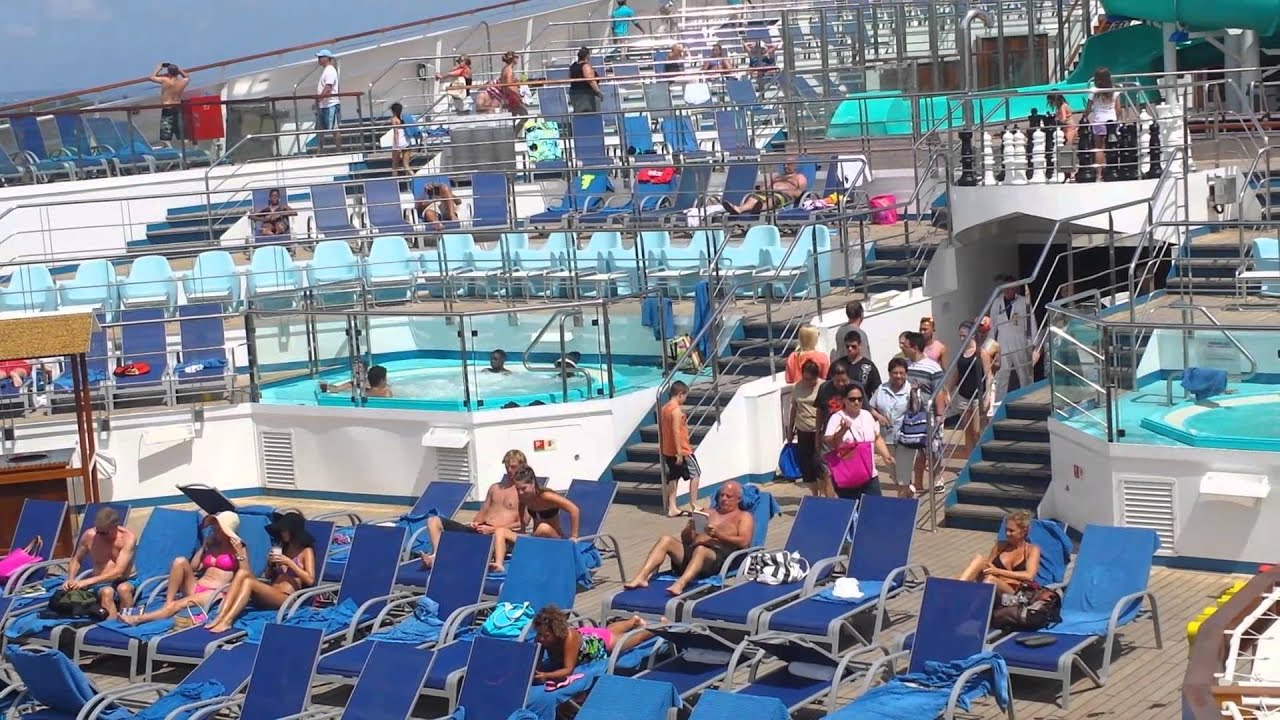 Carnival Freedom Pool Party