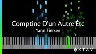 Comptine D'un Autre Été (Amélie) - Piano Tutorial