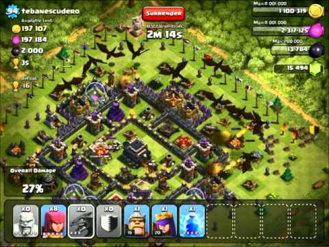 level 5 dragons clash of clans attacking