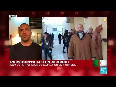 """Présidentielle en Algérie : """"L'élection la plus boycottée depuis l'indépendance de l'Algérie"""""""