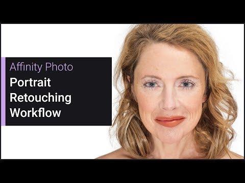 Portrait Retouching Workflow (Affinity Photo)