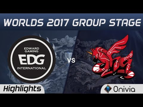 EDG vs AHQ Highlights World Championship 2017 Group Stage Edward Gaming vs AHQ Esports by Onivia