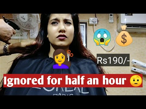 I WENT TO RANDOM BEAUTY SALON FOR HAIRCUT 💇‍♀️ IN MY CITY, INDIA | Just Rs190 for advance😱 cut💇‍♀