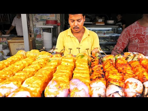 HUUUGE Indian Street Food ADVENTURE in Jaipur, India | BEST VEGETARIAN Street Food in India -SPICY!