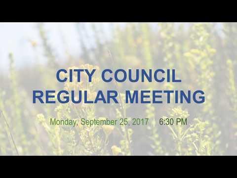 Malibu City Council Meeting September 25, 2017