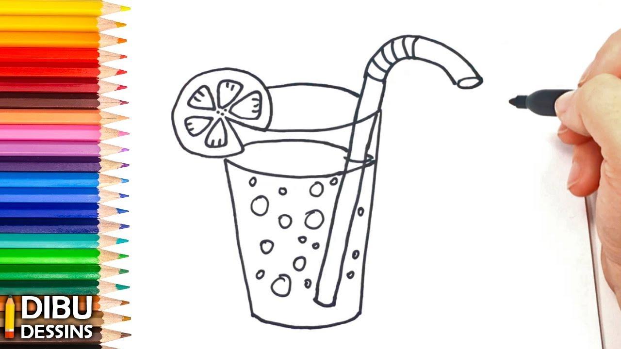 Comment dessiner un verre dessin de verre youtube - Dessin de verre ...
