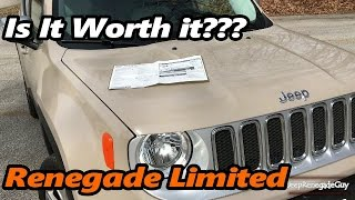 Jeep Renegade Limited Is it Worth the $32,000?