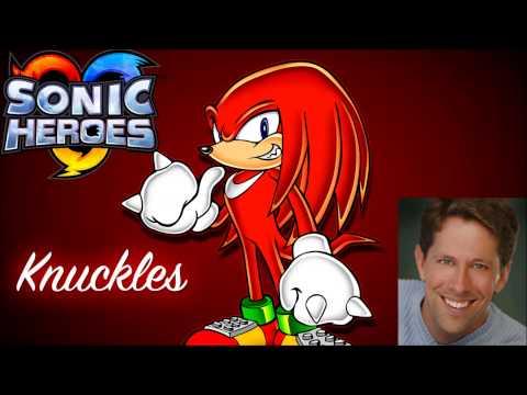 Knuckles [Voice Clips] ~ Scott Dreier (Sonic Heroes)