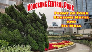 Hongkong Central Park  In Fron…