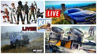 LIVE GTA 5 ( MODS ) + ( Fortnite / Spintires / Black Ops 3 )
