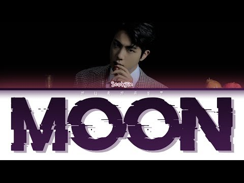 BTS JIN - MOON (Color Coded Lyrics Eng/Rom/Han)