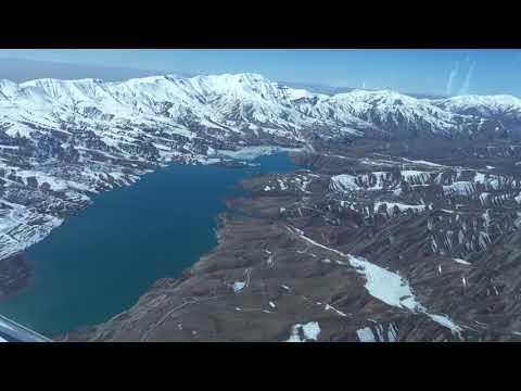 Flight Over Alborz Mountains (Taleghan Valley) - IRAN