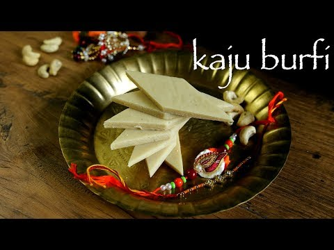 Kaju Barfi Recipe  - Kaju Ki Barfi -  Kaju Barfi With Milk - Cashew Burfi Recipe