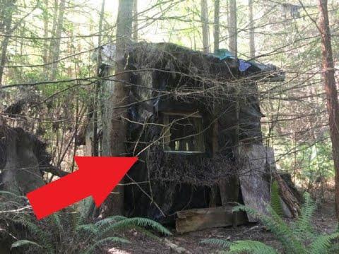 Лесник находит в глухом лесу странную хижину и решает в неё войти. То что он там увидел, удивило...