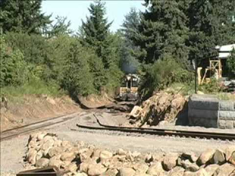 Oregon Pacific Railroad, American Steel Opening