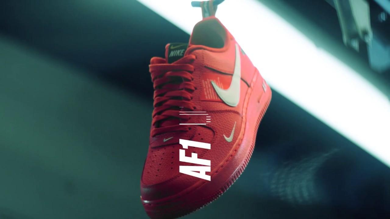 40a39889392 Nike Mens Utility Air Force 1 LV8 Sneakers. Landaustore