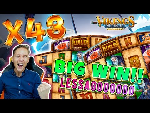 Viking unleashed BIG WIN - Huge win on Casino Game - free spins (Online Casino)
