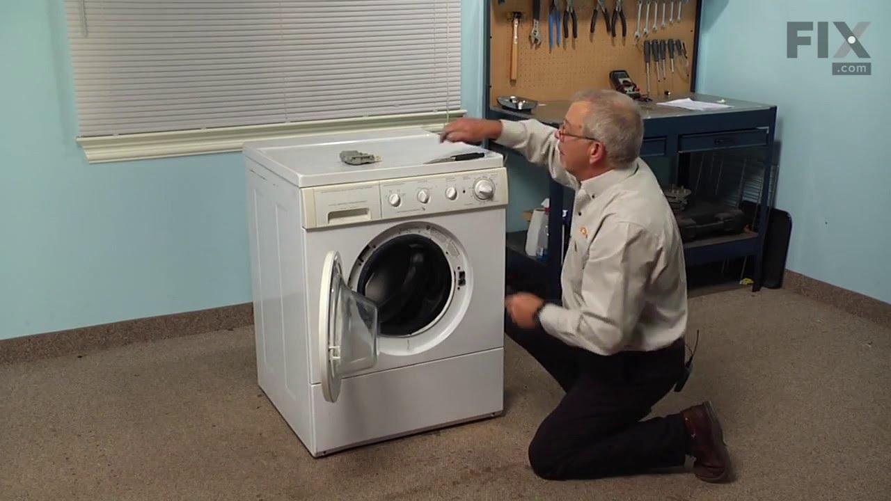 Frigidaire Washer Repair How To Replace The Door Lock