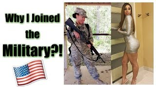 Why I Joined the Military!?? | Military Monday