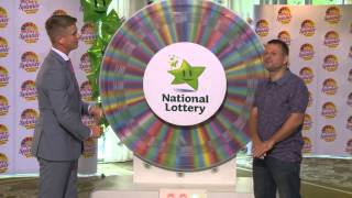 National Lottery Money Spinner Draw 16th August 2014