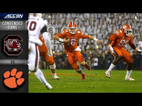 South Carolina vs. Clemson Condensed Game | 2018 ACC Football