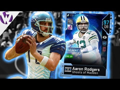 GHOST AARON RODGERS! - Madden 19 Gameplay
