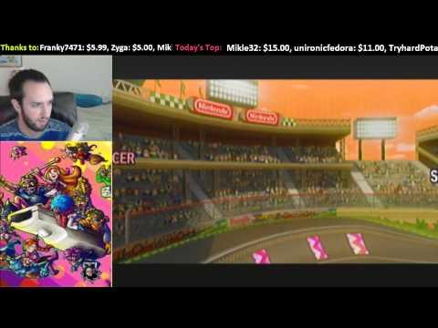 Livestream -- WarioWare: Smooth Moves. Mario Kart Wii, 15 Seconds Speedruns, MindCrack Server thumbnail