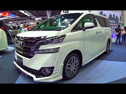 New Mpv Toyota Vellfire 2016 2017 Youtube