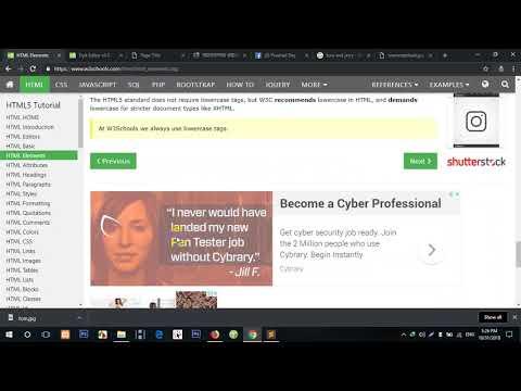 html part 3 Web Design Tutorial   [Bangla ওয়েব ডিজাইন ]