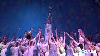 «В воскресенье вербное». Отчётный концерт хореографического ансамбля «Россияночка» в Верхней Салде