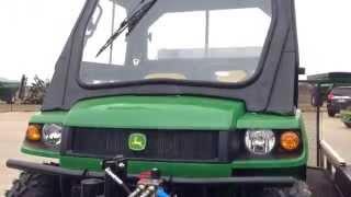 John Deere Gator Equipment for Snow Removal