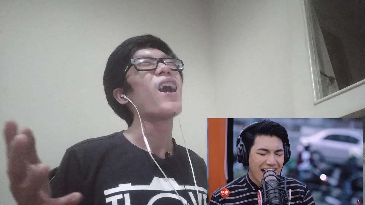 "Indonesian Reacts Darren Espanto performs ""Sasagipin Kita"" LIVE on Wish 107.5 Bus   REACTION VIDEO!"