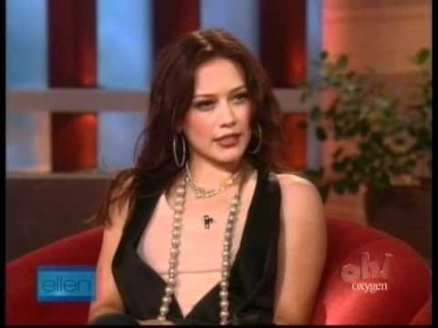 Hilary Duff  Interview on  Ellen Degeneres  2007