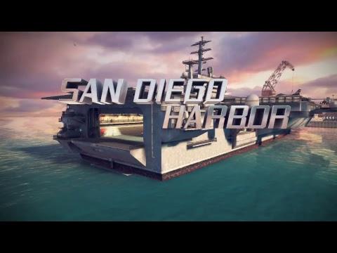 Asphalt 8 Porsche Cayman GT4 Event Time Attack - San Diego Harbor + ALPS